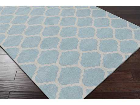 Surya Horizon Rectangular Denim & Charcoal Area Rug