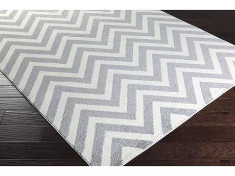 Surya Horizon Rectangular Cream & Medium Gray Area Rug