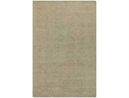 Surya Haven Rectangular Green Area Rug