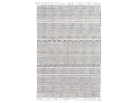 Surya Idina Rectangular Gray Area Rug