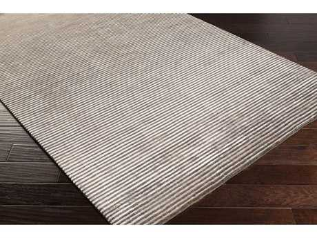 Surya Mugal Rectangular Dark Brown & Light Gray Area Rug