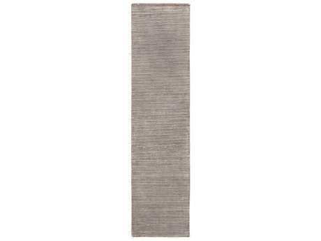 Surya Mugal Rectangular Dark Brown & Light Gray Runner Rug