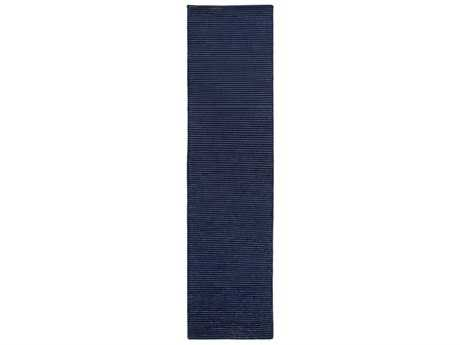 Surya Mugal 2'6'' x 10' Rectangular Navy Runner Rug