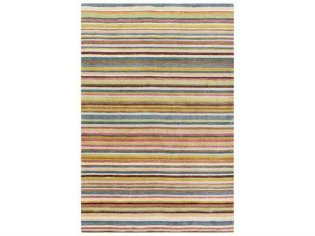 Surya Indus Valley Rectangular Burgundy & Gold Area Rug