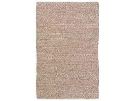 Surya Ingrid Rectangular Rust Area Rug