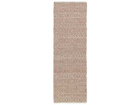 Surya Ingrid 2'6'' x 8' Rectangular Rust Runner Rug
