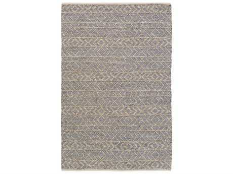 Surya Ingrid Rectangular Gray Area Rug