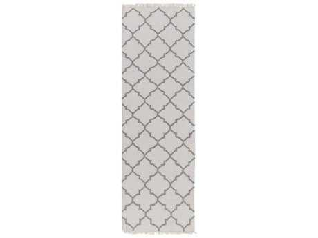 Surya Isle 2'6'' x 8' Rectangular Charcoal Runner Rug