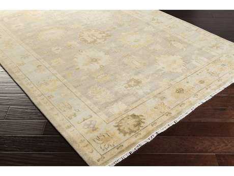 Surya Istanbul Rectangular Khaki, Burnt Orange & Taupe Area Rug
