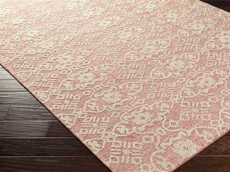 Surya Ithaca Rectangular Rust Area Rug