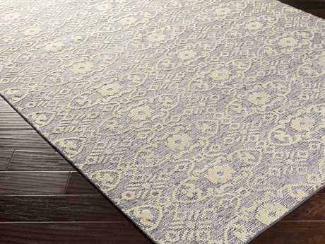 Surya Ithaca Rectangular Light Gray Area Rug