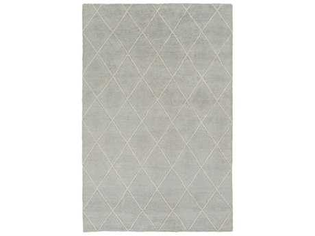 Surya Jaque Rectangular Light Gray & Ivory Area Rug