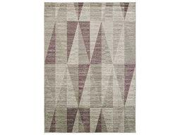 Surya Jax Rectangular Light Gray & Eggplant Area Rug