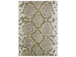 Surya Jax Rectangular Light Gray & Olive Area Rug