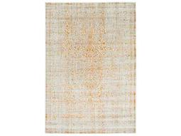 Surya Jax Rectangular Bright Orange, Camel & Khaki Area Rug