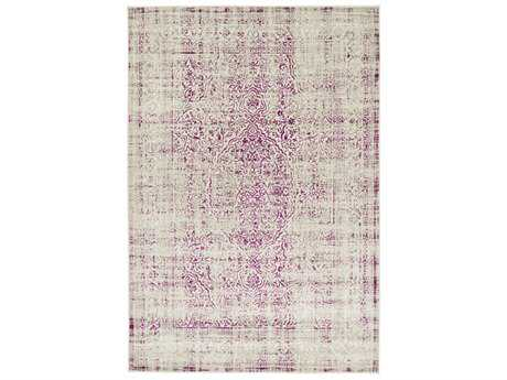 Surya Jax Rectangular Dark Purple, Camel & Light Gray Area Rug