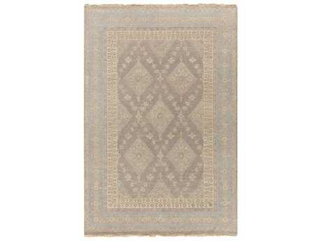 Surya Jade Rectangular Taupe & Medium Gray Area Rug