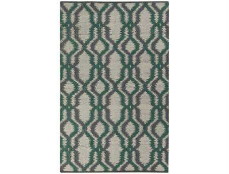 Surya Juniper Tone Rectangular Green Area Rug