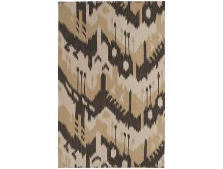 Surya Jewel Tone Rectangular Brown Area Rug