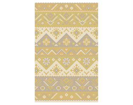 Surya Jewel Tone Rectangular Yellow Area Rug