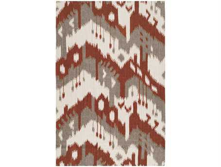 Surya Jewel Tone Rectangular Red Area Rug