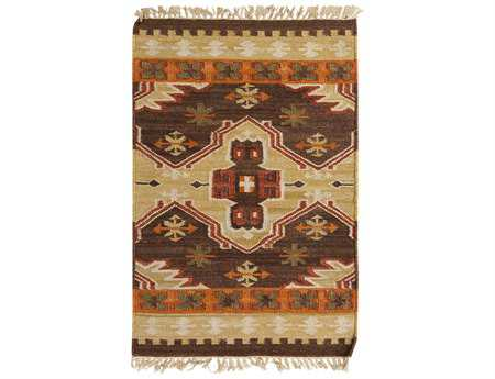 Surya Jewel Tone II Rectangular Brown Area Rug