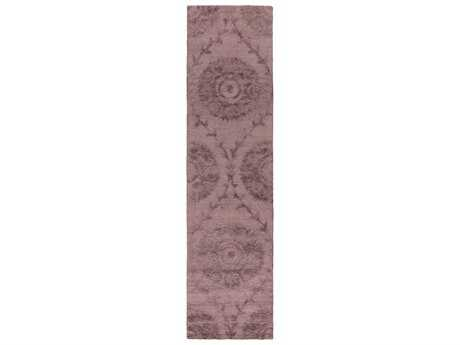 Surya Juliette Rectangular Mauve Runner Rug