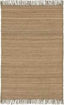 Surya Jute Natural Rectangular Beige Area Rug
