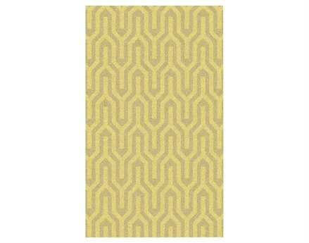 Surya Kabru Rectangular Yellow Area Rug
