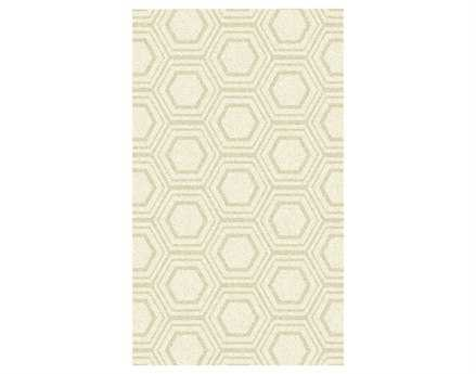 Surya Kabru Rectangular White Area Rug