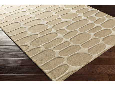 Surya Kennedy Rectangular Khaki Area Rug