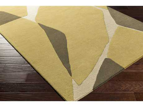 Surya Kennedy Rectangular Olive, Khaki & Dark Brown Area Rug