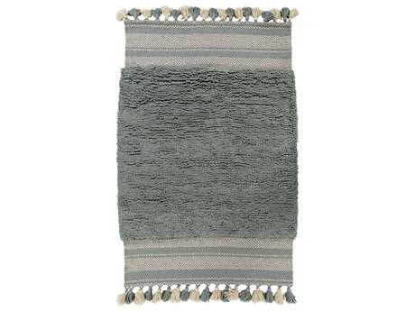 Surya Korva Rectangular Light Gray Area Rug