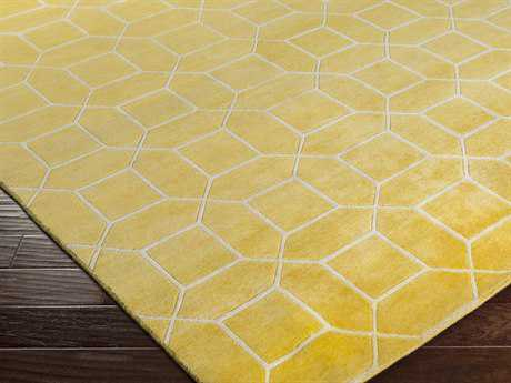 Surya Keystone Rectangular Gold Area Rug