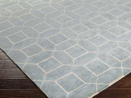 Surya Keystone Rectangular Light Gray Area Rug