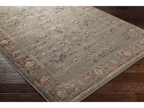 Surya Kaitlyn Rectangular Camel, Rust & Dark Brown Area Rug