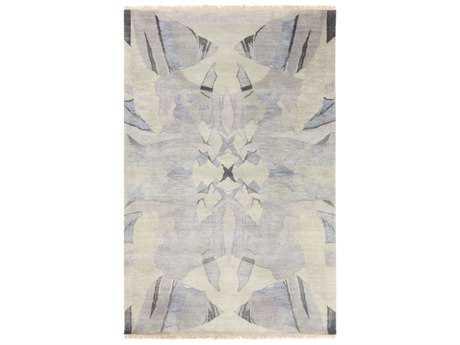 Surya Libra One Rectangular White, Dark Brown & Medium Gray Area Rug