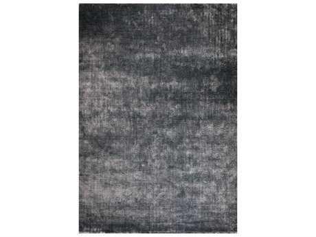 Surya Linen Rectangular Charcoal Area Rug