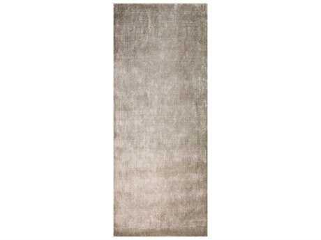 Surya Linen 2'6'' x 8' Rectangular Light Gray Runner Rug