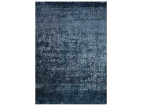 Surya Linen Rectangular Navy Area Rug