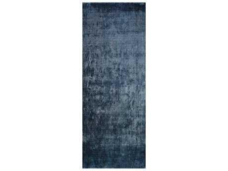 Surya Linen 2'6'' x 8' Rectangular Navy Runner Rug