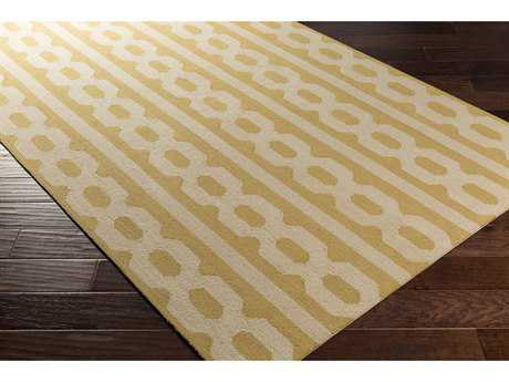 Surya Lockhart Rectangular Khaki & Wheat Area Rug