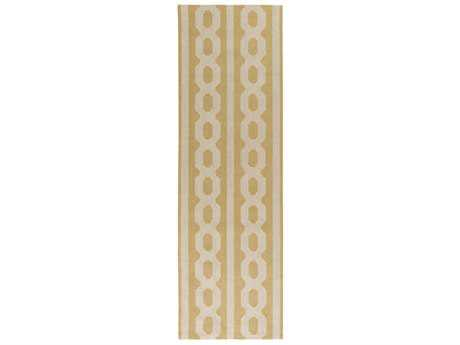 Surya Lockhart 2'6'' x 8' Rectangular Khaki & Wheat Runner Rug