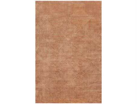 Surya Candice Olson Luminous Rectangular Orange Area Rug