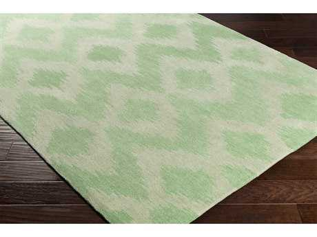 Surya Leap Frog Rectangular Grass Green & Moss Area Rug