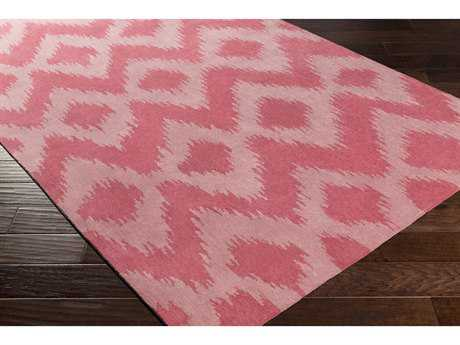Surya Leap Frog Rectangular Coral & Pale Pink Area Rug