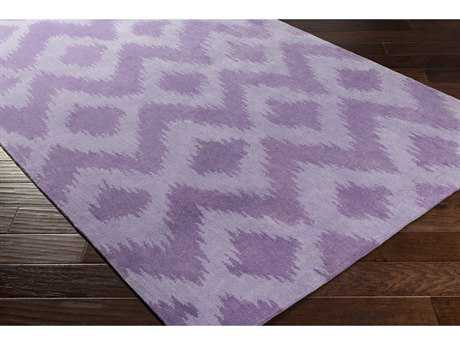 Surya Leap Frog Rectangular Bright Purple Area Rug