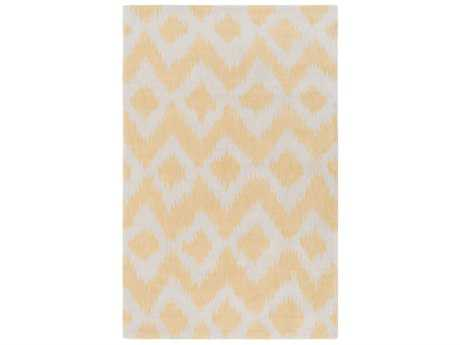 Surya Leap Frog Rectangular Butter & White Area Rug