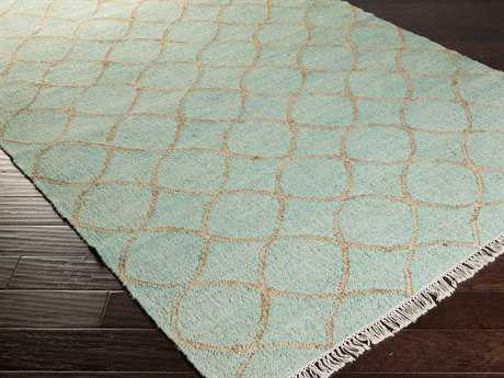 Surya Laural Rectangular Mint Area Rug