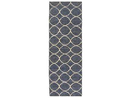Surya Laural 2'6'' x 8' Rectangular Navy Runner Rug